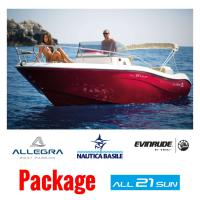 Allegra All 21 SUN - WA + Evinrude E-TEC