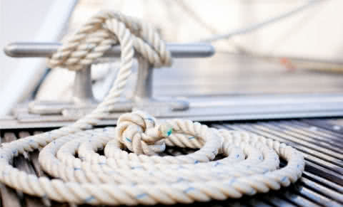 Anchoring and Mooring: Lines and ropes