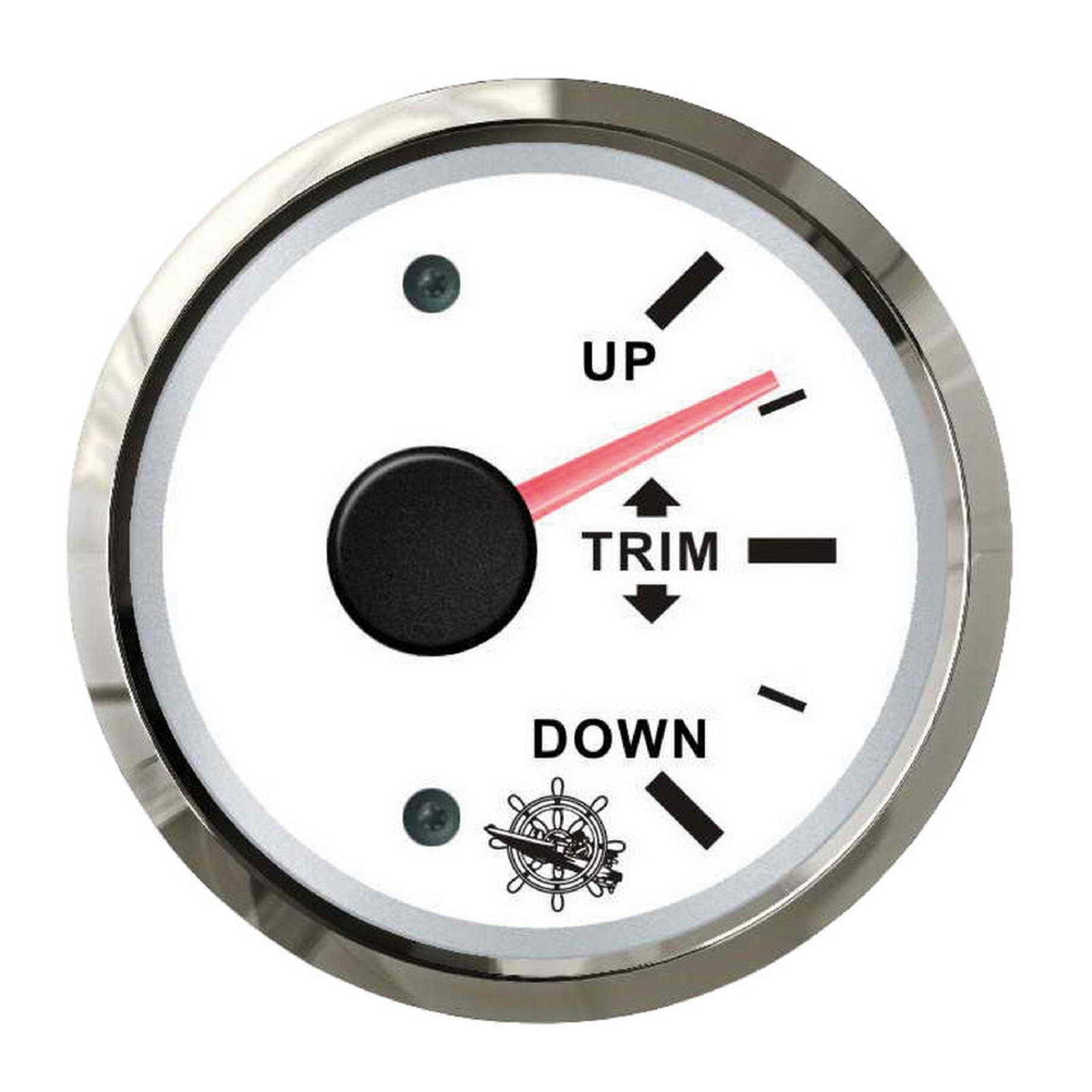 Osculati 27.322.11-2732211 Indicatore pressione olio 0-10 bar bianco//lucida