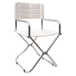 Alloy foldable chair