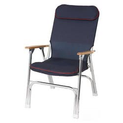 Super-deck foldable padded chair
