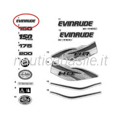 DECAL,EVINRUDE