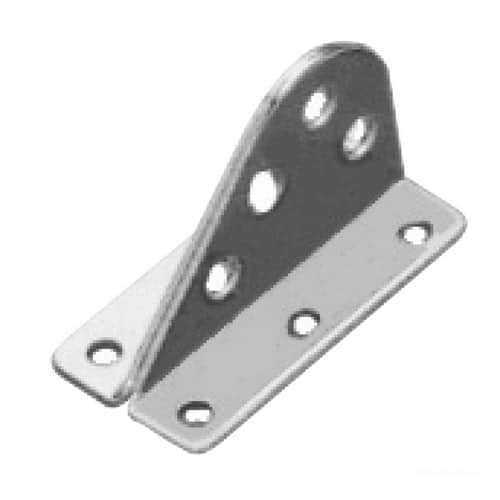 Forestay plate made of stainless steel